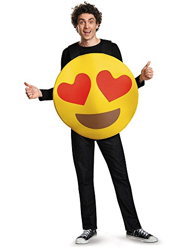 Emoji Costume - One Size - Chest Size 38-52