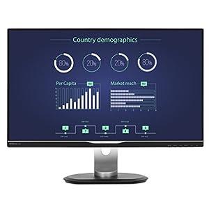 "Philips 276E8FJAB 27"" Class IPS Slim LED Monitor, 2560 x 1440, 350cd/m2, 4ms, Speakers, VGA, DisplayPort, HDMI 14"