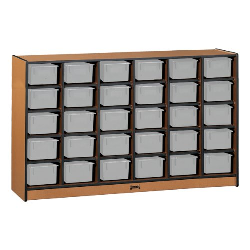 30 Tray Mobile Cubbie Without Trays - School & Play -
