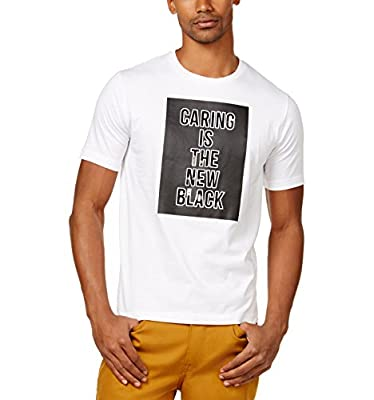 Sean John Graphic Printed T-Shirt. Caring is The New Black.