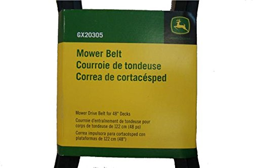 Amazon.com : OEM John Deere GX20305 Deck Belt Fits L120 L130 L2048 L2548 Mowers w/48 Inch Deck : Garden & Outdoor