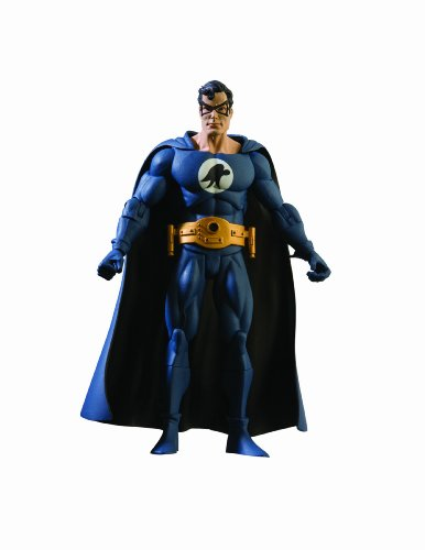 History of the DC Universe: Series 4: Superman as Nightwing Action Figure (Martian Manhunter Costume)
