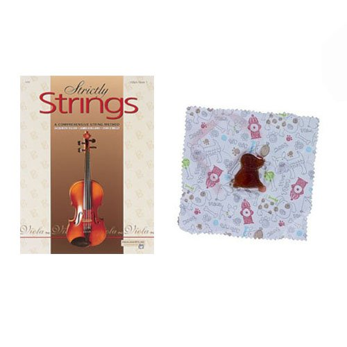 Strictly Strings Viola Book 1 - with BONUS Dog Rosin VSSI-1-D