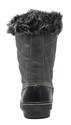 DREAM Grey Snow low Boots Women's PAIRS wHqOxCw8T