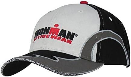 Ironman triatlón ocio Cap – Negro/Blanco: Amazon.es: Deportes y ...