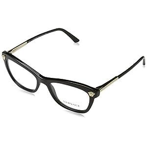 Versace VE3224 Eyeglass Frames GB1-52 - Black
