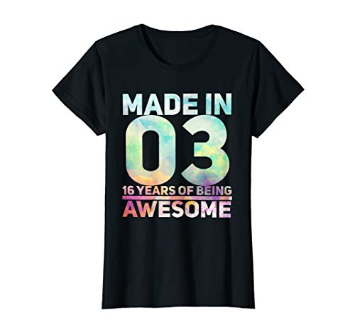Sweet 16 Birthday Party T-Shirt | Sweet 16th Shirt Gift Idea]()