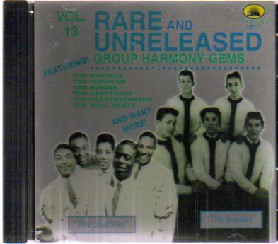 Group Harmony Gems - Rare and Unreleased - Volume 13