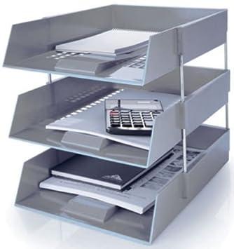 Generic dyhp-a10-code-3572-class-1 -- organizador almacenamiento ordenado archivador de escritorio ganis carta bandejas isers F gris en Out y en particular ...