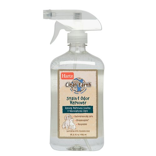 Hartz Clean Earth Stain and Odor Spray, 17.5 oz, My Pet Supplies