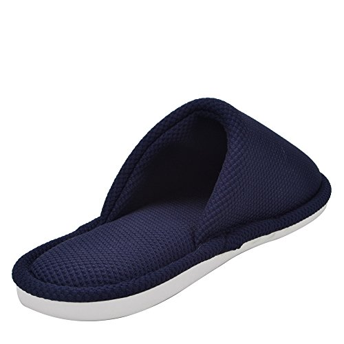 Earsoon Cotton Winter Collection Breathable Navy Slipper XL17001 Ladies Cotton Heavy Womens Slected Slipper knnited New 2018 House Warm Duty 4r45xAwq