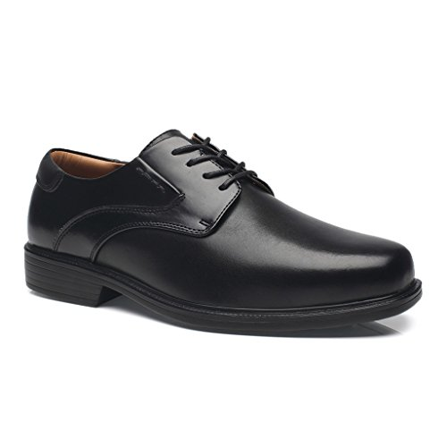 La Milano Men's Classic Modern Wide Width Plain Toe Oxford