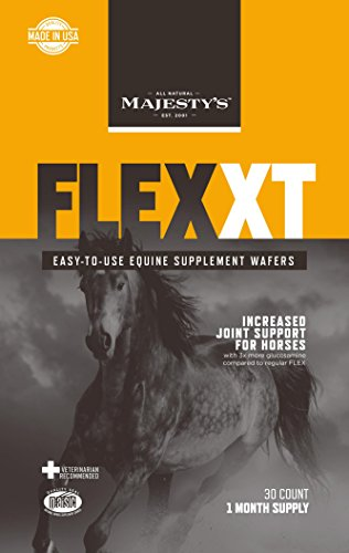 MAJESTY'S FLEX XT EQUINE SUPPLEMENT WAFERS - 30 DAY