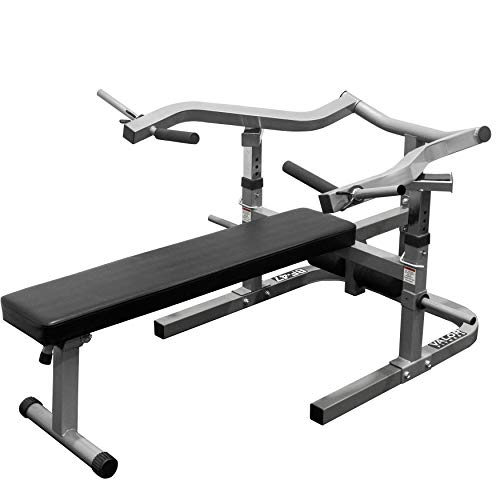 Valor Fitness BF-47 Adjustable Flat/Incline Bench Press with Independent Converging Arms and Ab Crunch Feature