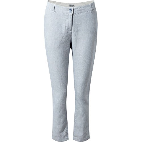 Craghoppers Femme Odette Pantalon China Blue Stripe