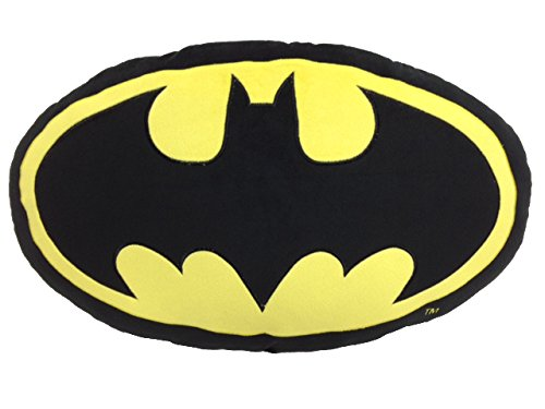 SD toys Batman Cojín Ovalado, Acrílico, 60 x 36 x 8 cm