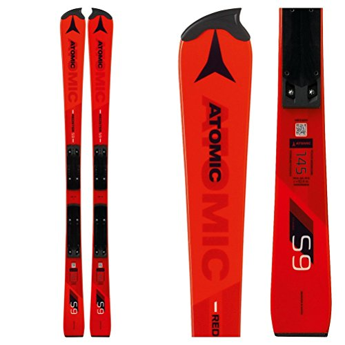 Atomic 2019 Redster S9 FIS Junior Ski w/Race Plate (138cm) ()