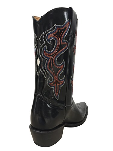 Planet Cowboy Menns Retro Boot Sort