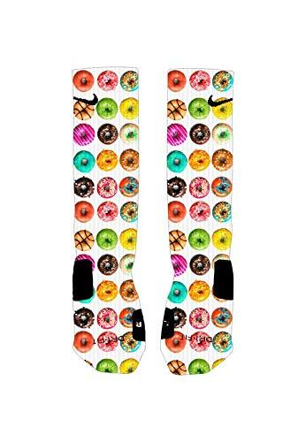 Donuts Custom Elite Socks (Large)