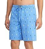 Polo Ralph Lauren Pony Player Print Classic Pajama Short (PK05SR) L/Harbour Blue/Navy