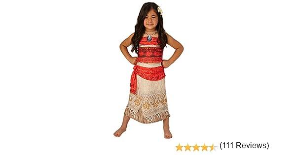 Disfraz para niños de la princesa Disney Moana: Amazon.es ...