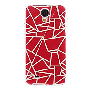 Debris Pattern Plastic Protective Hard Back Case Cover for Samsung Galaxy S4 I9500