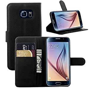 ZX Embossed PU Leather Case with Card Slot for Samsung GALAXY S6 (Assorted Colors) , Pink