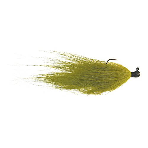 Kalin's 18HJG OL Hot Hair Jig - Bass Olive, 1/8 oz for sale  Delivered anywhere in USA