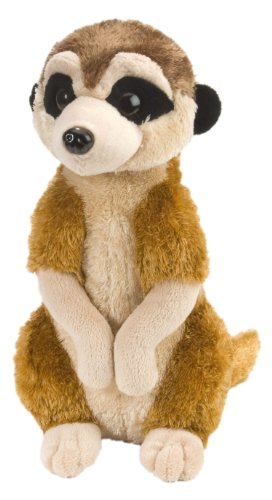 Meerkat Plush - Wild Republic Meerkat Plush, Stuffed Animal, Plush Toy, Kids Gifts, Cuddlekins, 12 Inches