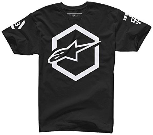 [ALPINESTARS Men's Ajax T Shirt, Black, XX-Large] (Alpinestars Replacement)
