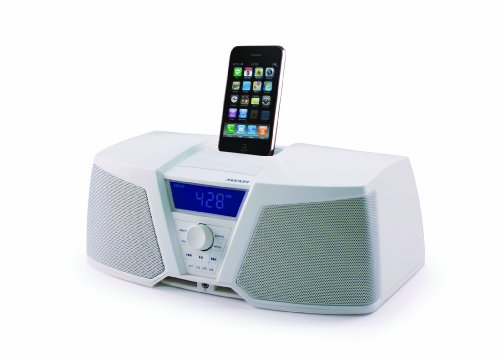 KICKER 09IK150W iKICK Digital Stereo System for iPod/iPhone with AM/FM Tuner and Alarm ()