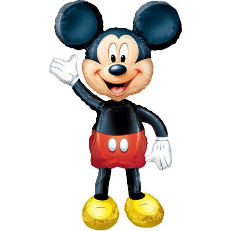Anagram International Mickey Mouse Air Walker, Multi-Color -