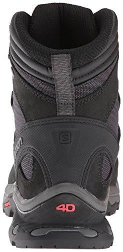 Salomon Herren Quest 4d 3 GTX Trekking-& Wanderstiefel, Braun, UK Shoe Size 8 grau (Phantom/Black/Quiet Shade 000)