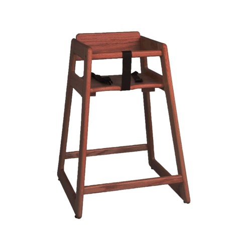 Tomlinson 1016310 Marston 29'' Walnut High Chair by Tomlinson (Image #1)