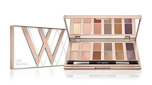 Lise Watier Simply Nudes 12-Colour Eyeshadow Palette, 0.42 oz
