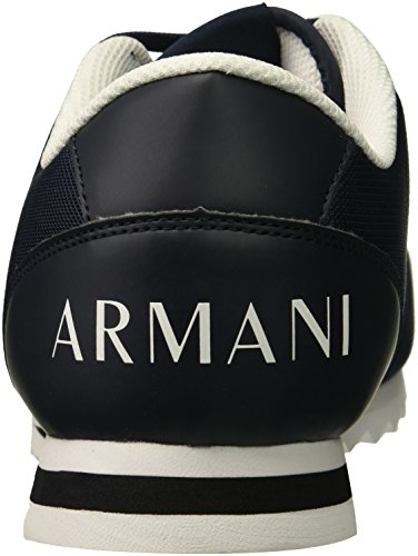 X A Sneaker Armani Exchange Men Navy Logo Armani Exchange FwqfdPw