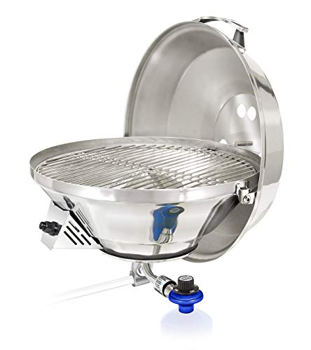 Magma Products, A10-217-3 Marine Kettle 3, A10-217-3, Combination Stove & Gas Grill, Propane Portable Oven, Party Size 17