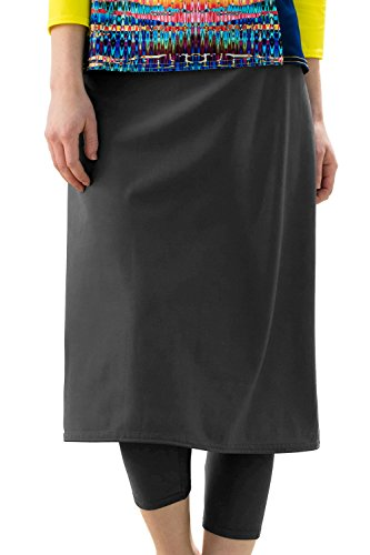 Undercover Waterwear Ladies Swim Skirt With Attached Leggings