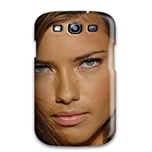 Fashion Tpu Case For Galaxy S3- Adriana Lima Defender Case Cover Sending Screen Protector in Free
