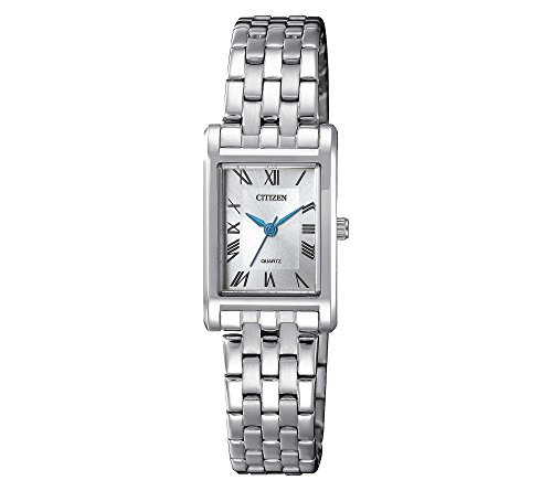 Citizen Women's Rectangular MOP Stainless Steel Watch