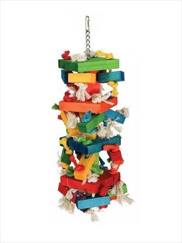 Paradise Toys XL Knots-N-Blocks, 8-Inch W by 22-Inch L