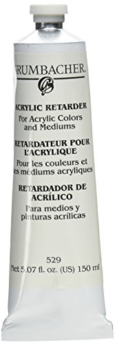 Grumbacher Acrylic Retarder for Acrylic Colors and Mediums, 5.07 oz. Tube