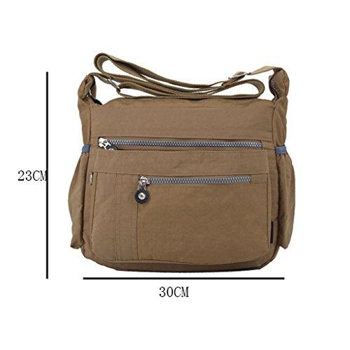 GUO - 2017smooth Lace Denim Canvas Damen Rucksack Tasche Damen Rucksack (30 * 23cm) (Schulterriemen: verstellbar) PZaQd