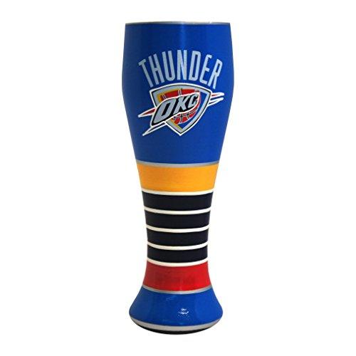 NBA Oklahoma City Thunder Artisan Pilsner Glass, - Glasses City Oklahoma