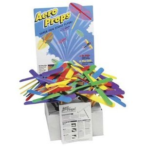 MazaaShop Aero Prop Bulk Toy, Comes with 24 Aero Props by MazaaShop