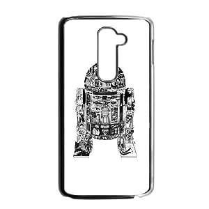 LG G2 Cell Phone Case Black Epic R2-D2