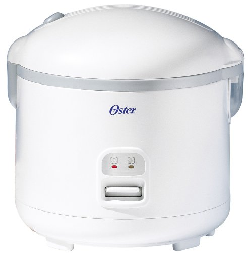 Oster 4715 Multi-Use 10-Cup uncooked resulting in 20-Cup (Cooked) Rice Cooker and Food Steamer, White