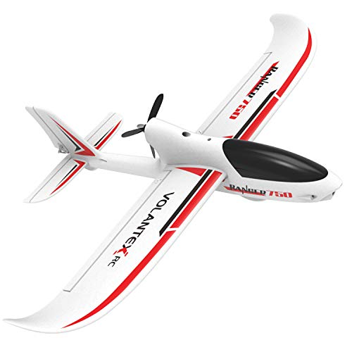 VOLANTEXRC RC Airplane Rear Pusher Glider Ranger750 Remote Control Plane with 750mm(29.5″) Wingspan, Well Glider Performance and Strong EPO Material, PNP version NO Trainsmitter NO Battery (767-2 PNP)