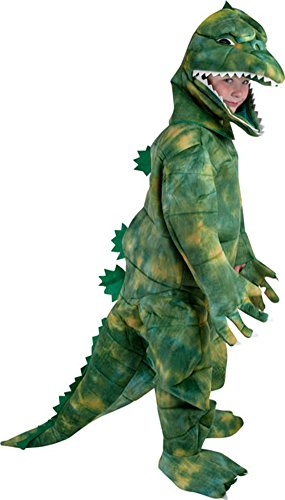 [Child's Godzilla Costume, Size Youth Small 4-6] (Godzilla Halloween Costumes)