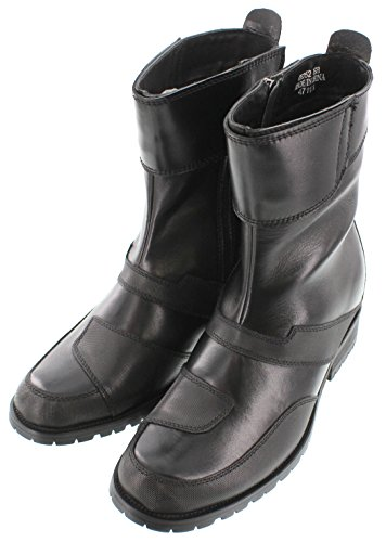 calto-g6252- 8,4cm Grande Taille-Hauteur Augmenter Chaussures ascenseur (Fermeture Éclair haute Top forme de coffre)